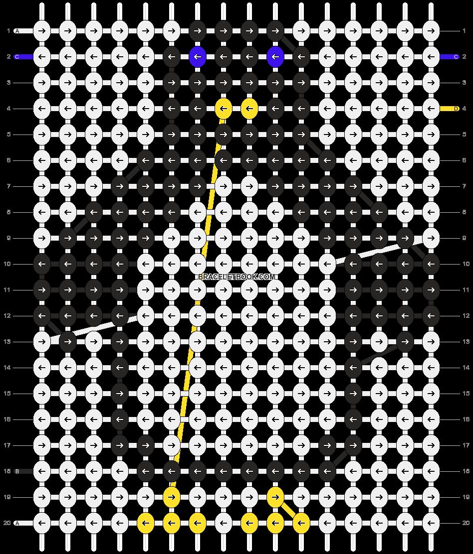 Alpha pattern #4733 pattern