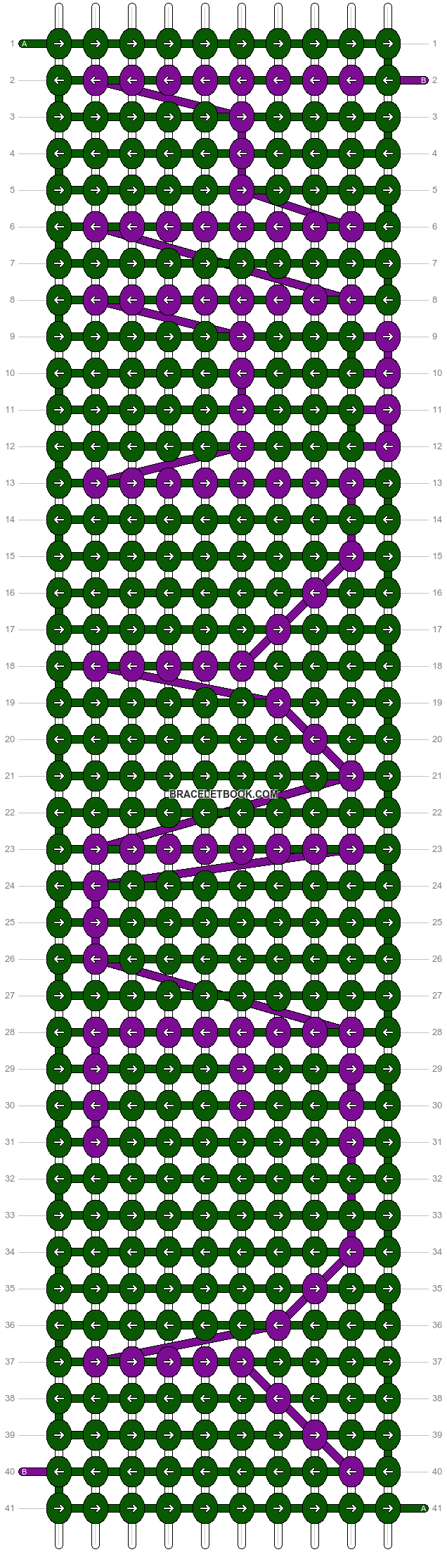 Alpha pattern #4735 pattern