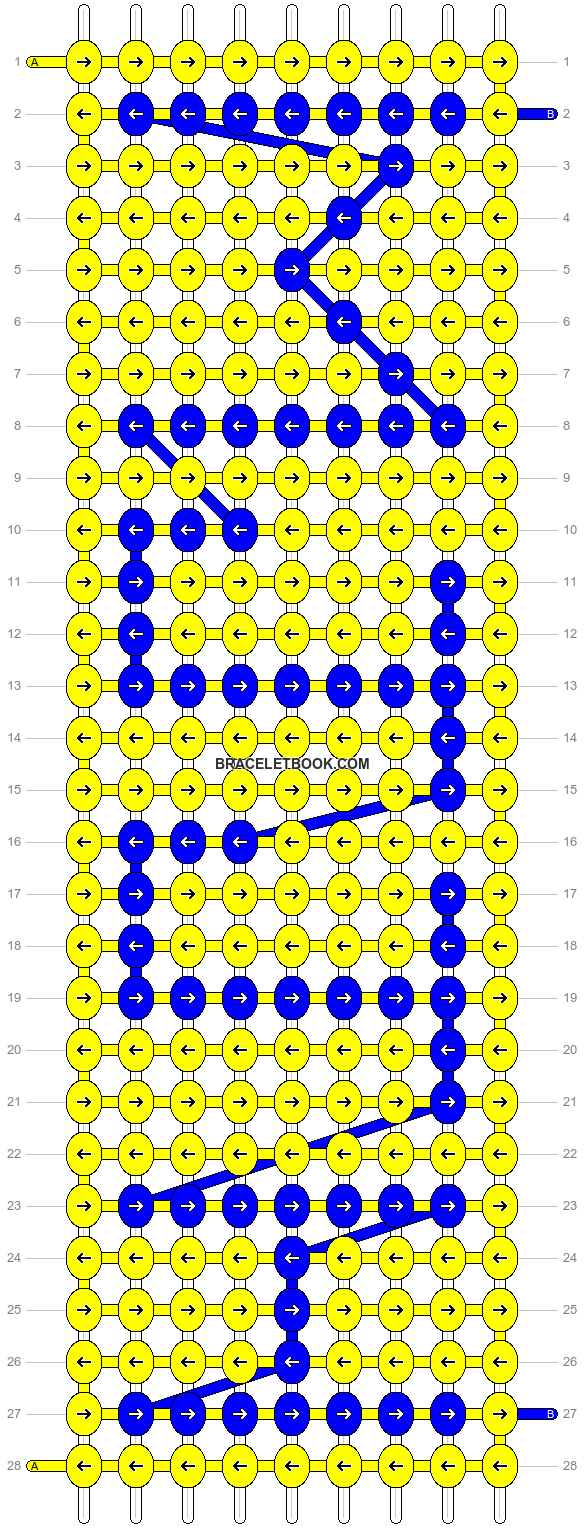 Alpha pattern #4741 pattern