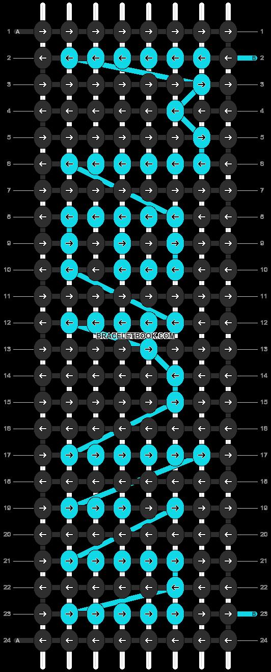 Alpha pattern #4743 pattern