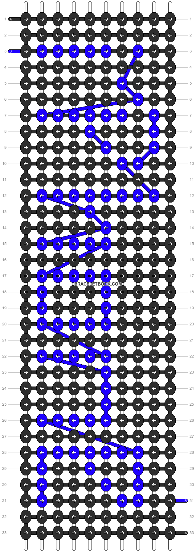 Alpha pattern #4751 pattern