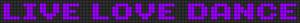 Alpha pattern #4765