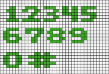 Alpha pattern #4777