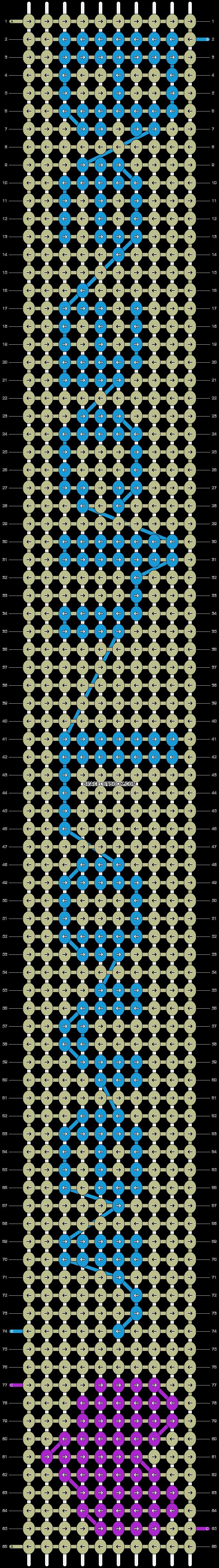 Alpha pattern #4781 pattern