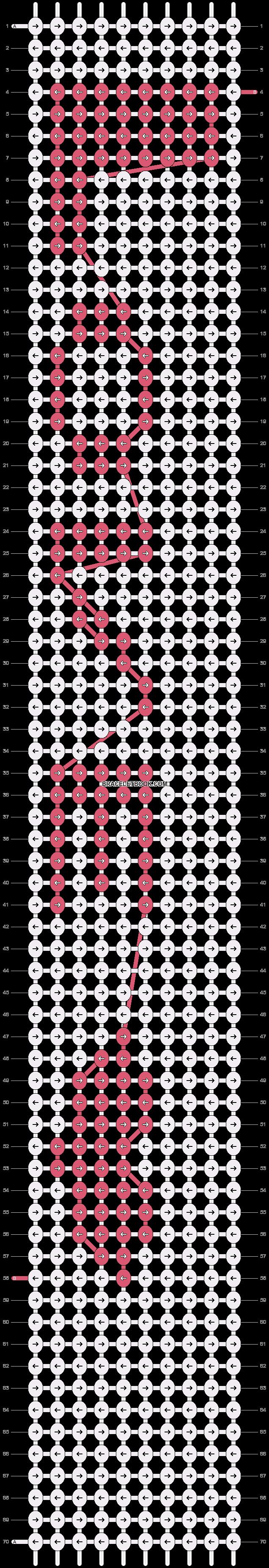 Alpha pattern #4791 pattern
