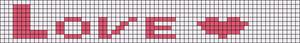 Alpha Friendship Bracelet Pattern #4791