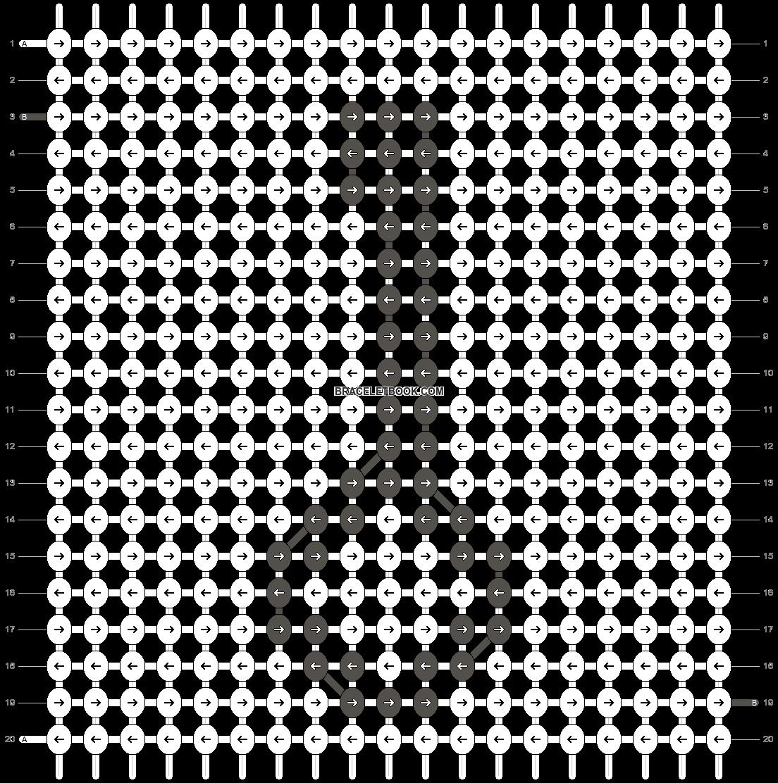 Alpha pattern #4803 pattern