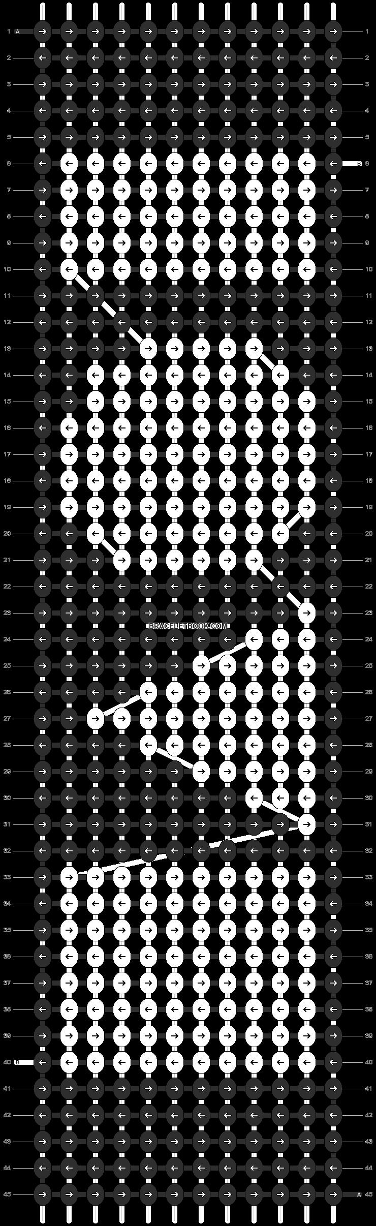 Alpha pattern #4807 pattern