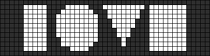 Alpha pattern #4807