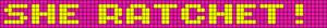 Alpha pattern #4812