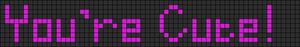 Alpha pattern #4816