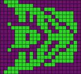 Alpha Friendship Bracelet Pattern #4818