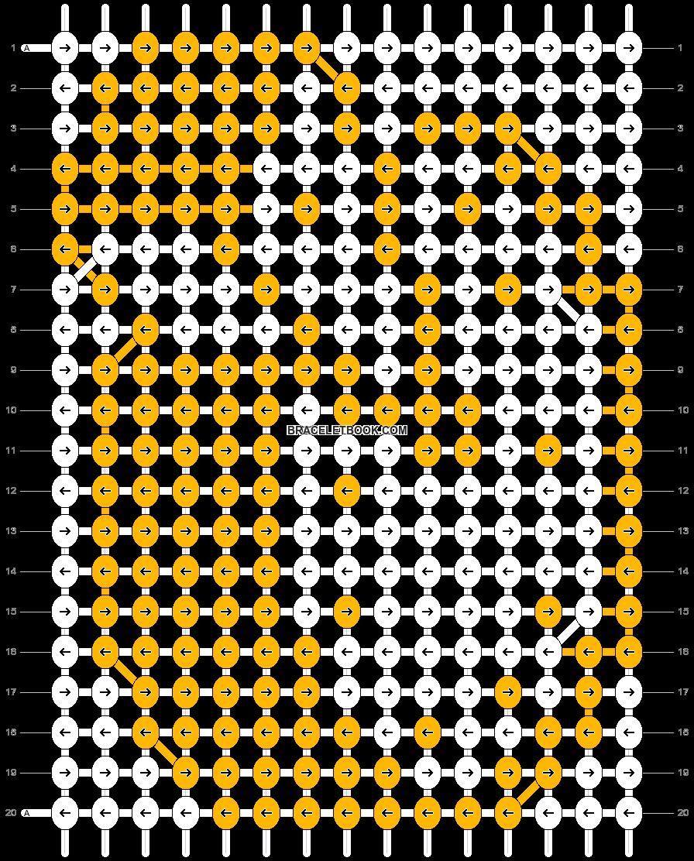 Alpha pattern #4822 pattern