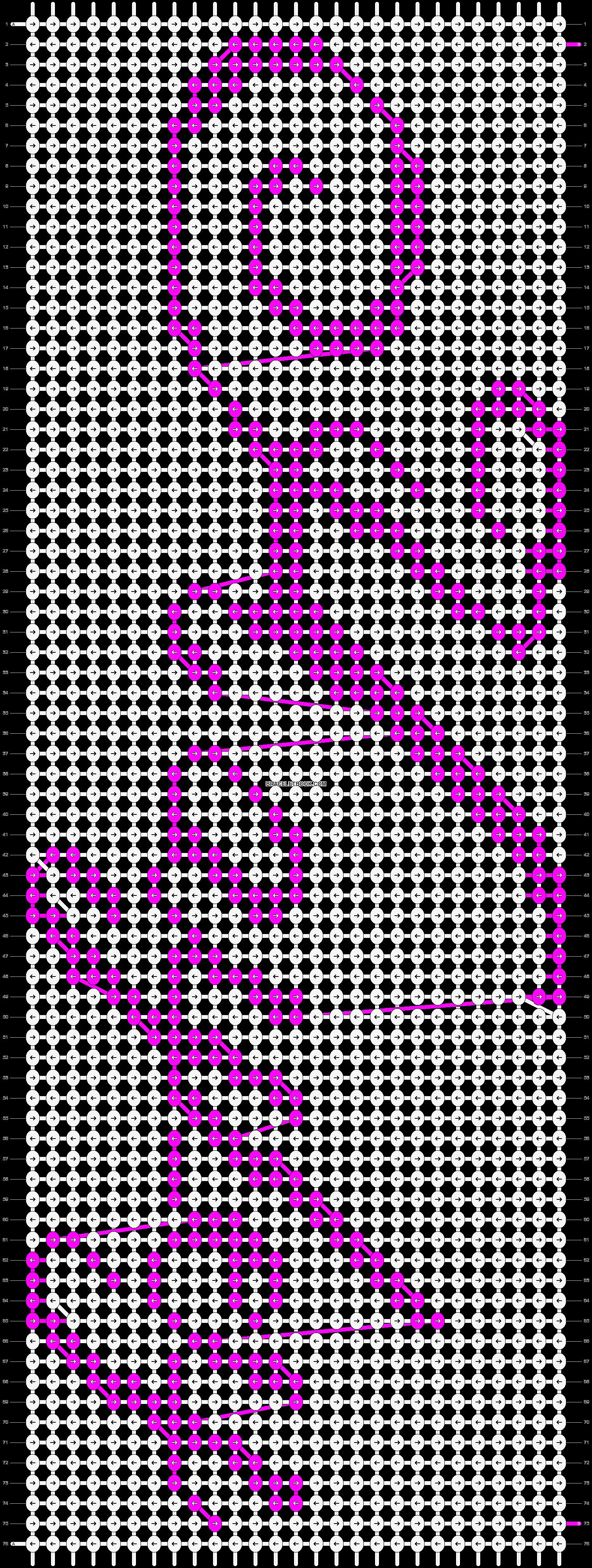 Alpha pattern #4826 pattern