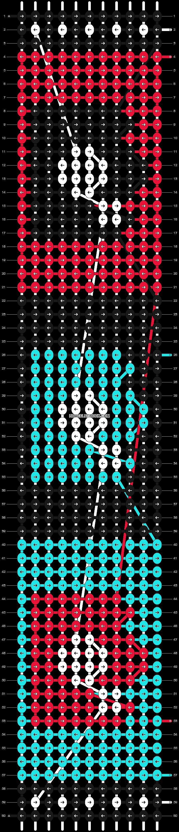 Alpha pattern #4834 pattern