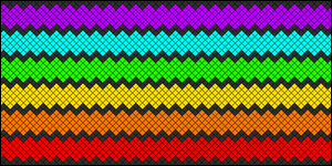 Normal Friendship Bracelet Pattern #4843
