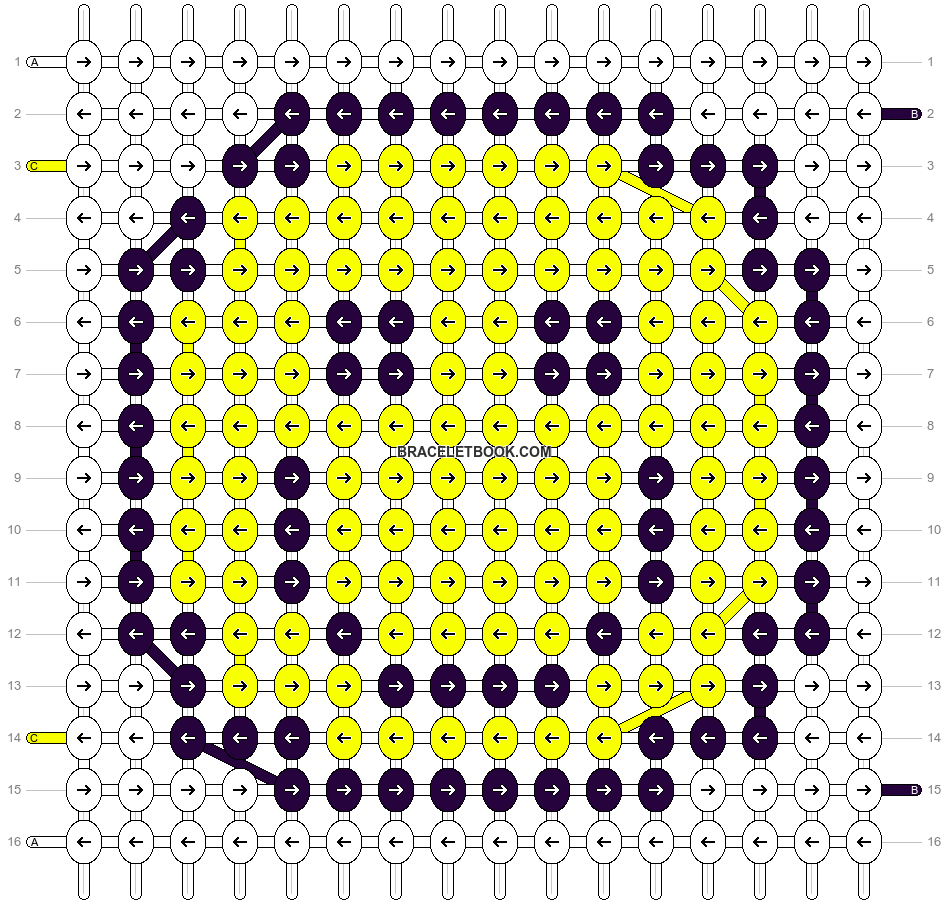 Alpha pattern #4845 pattern