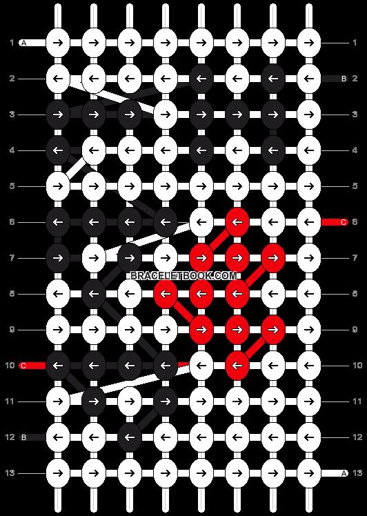 Alpha pattern #4849 pattern