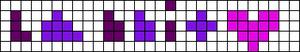 Alpha pattern #4850