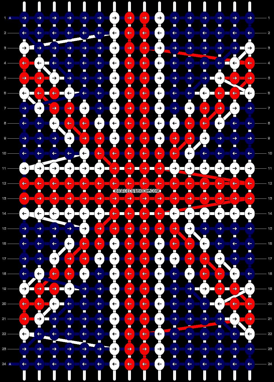Alpha pattern #4851 pattern