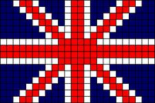 Alpha Friendship Bracelet Pattern #4851