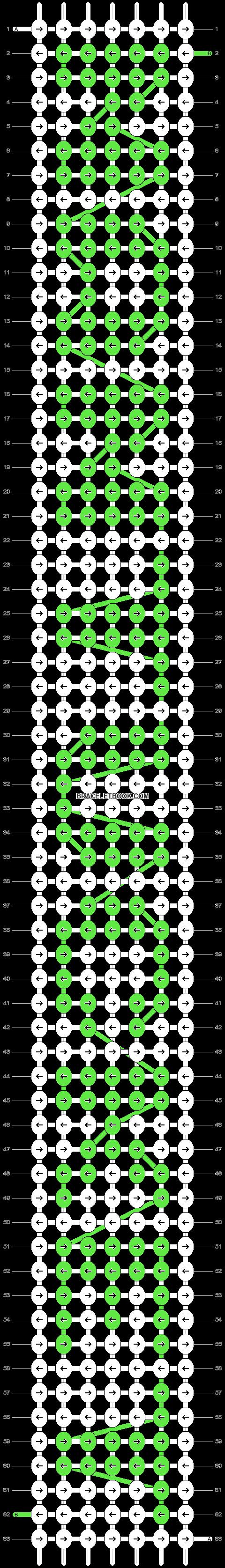 Alpha pattern #4857 pattern