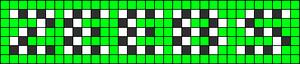 Alpha pattern #4867