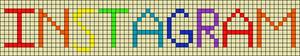 Alpha Friendship Bracelet Pattern #4876