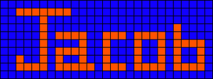 Alpha pattern #4878