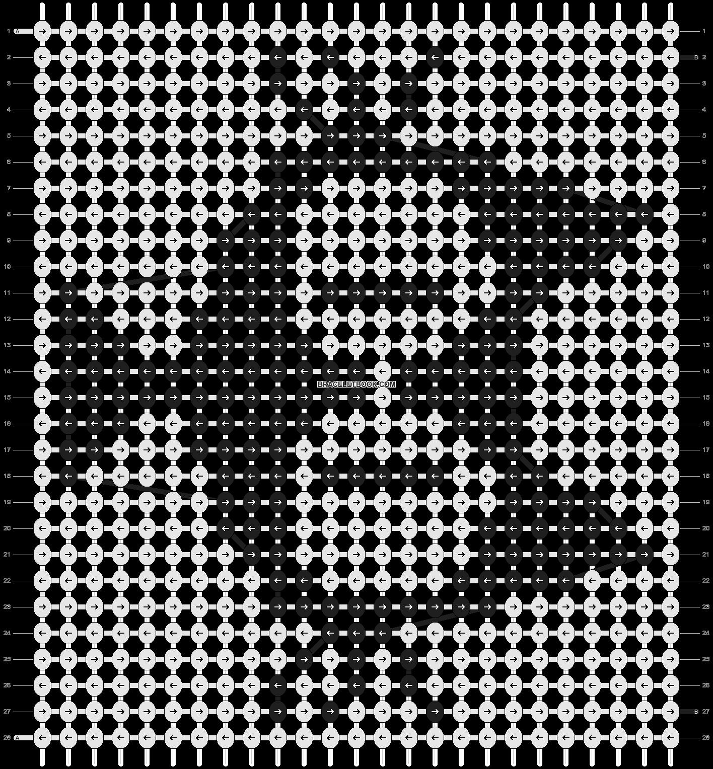 Alpha pattern #4892 pattern