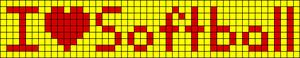 Alpha Friendship Bracelet Pattern #4896