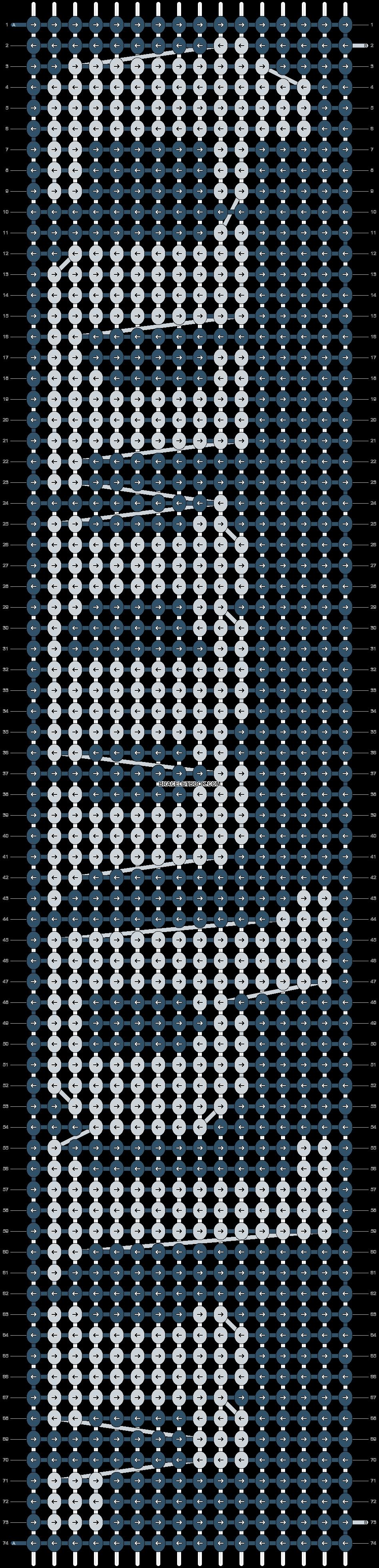 Alpha pattern #4899 pattern