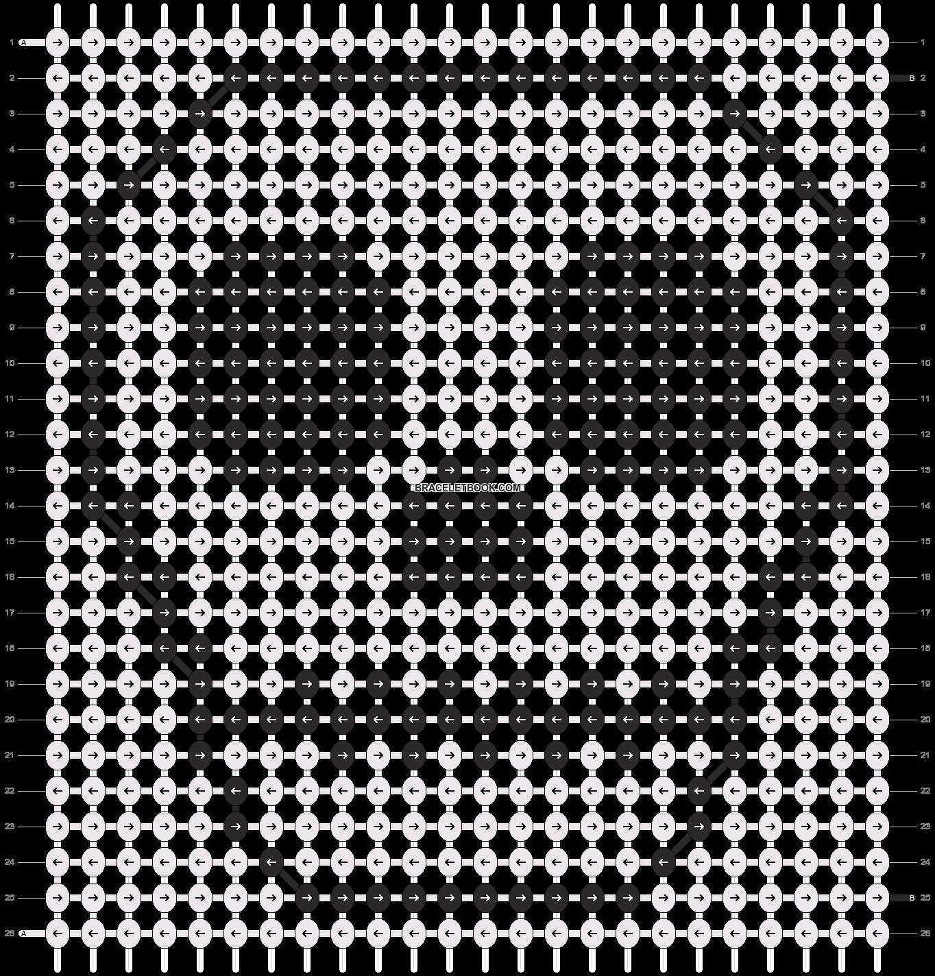 Alpha pattern #4901 pattern