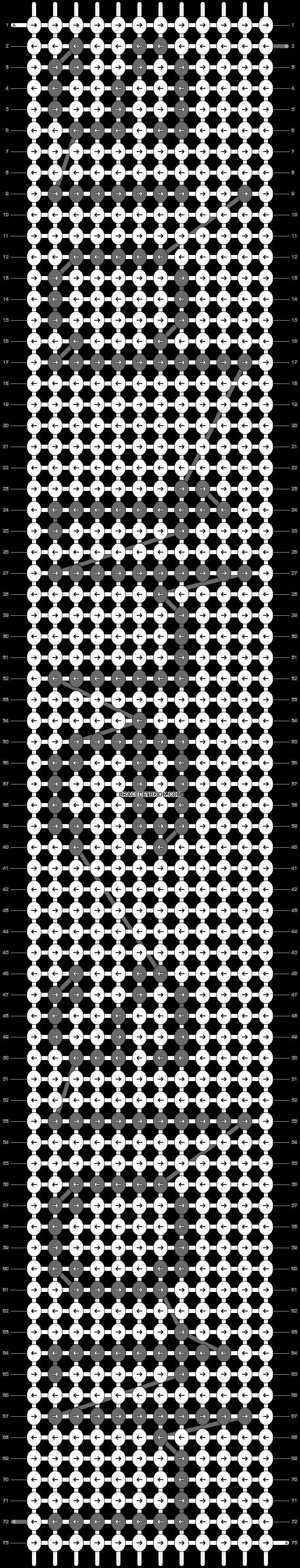 Alpha pattern #4909 pattern