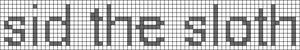 Alpha pattern #4909