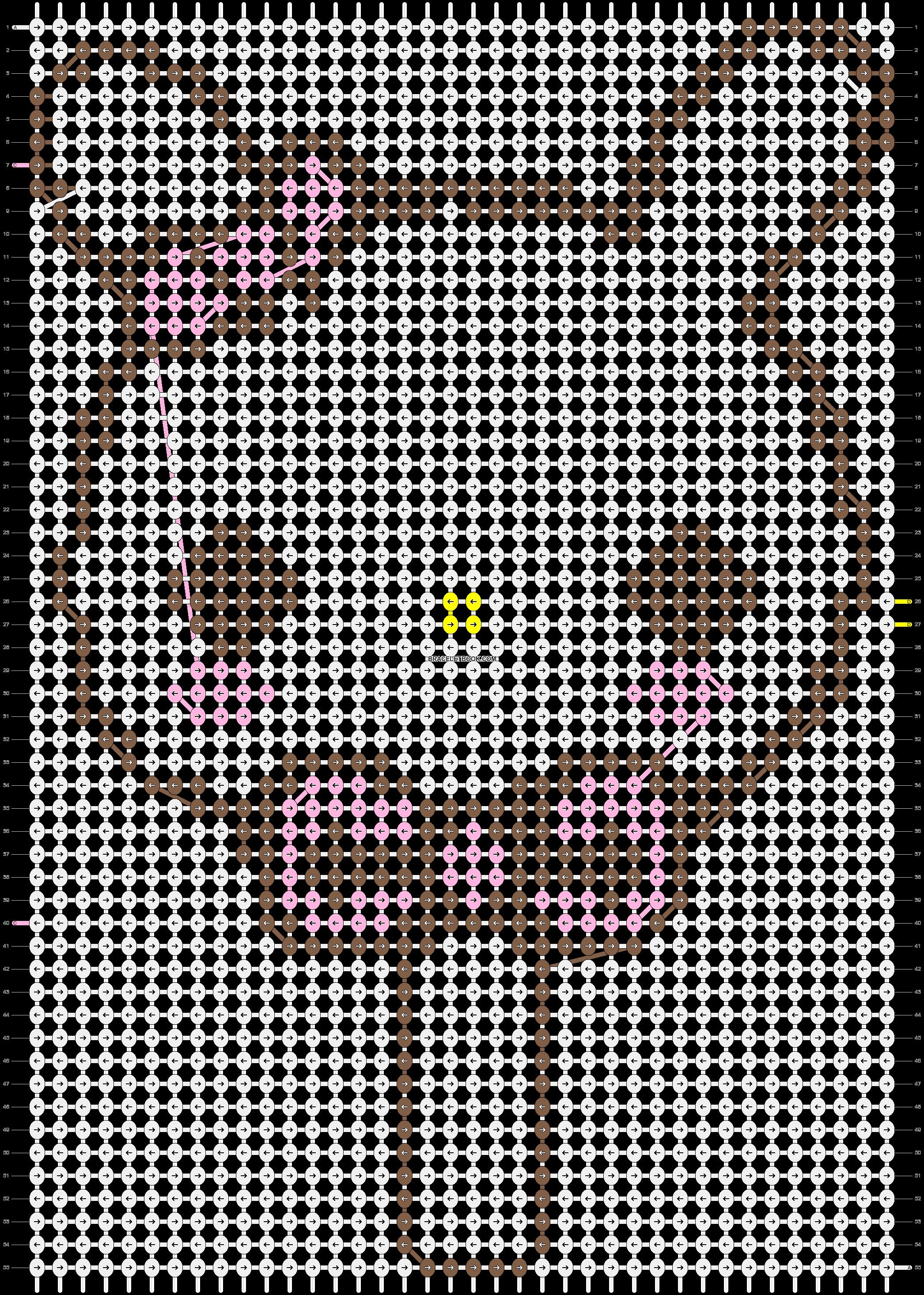 Alpha pattern #4926 pattern