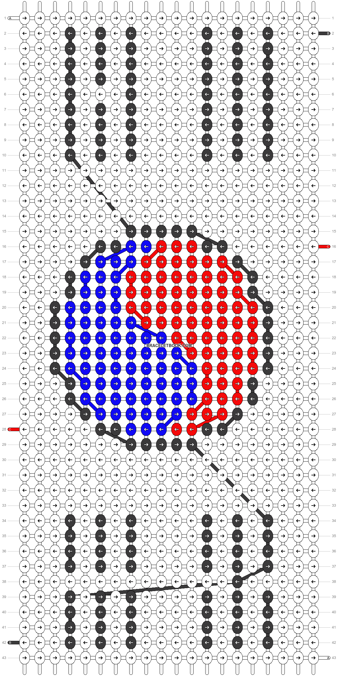 Alpha pattern #4927 pattern
