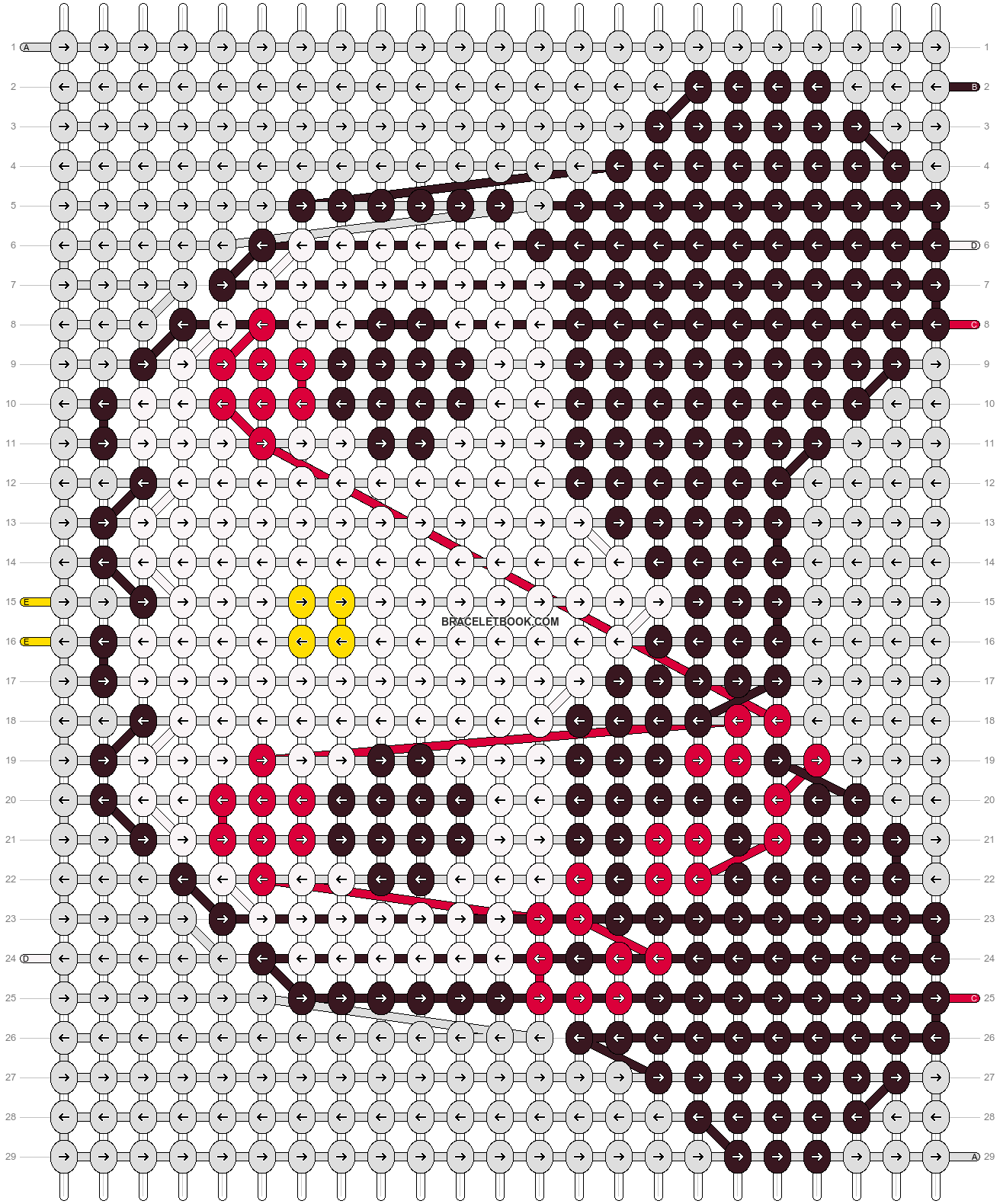 Alpha pattern #4929 pattern