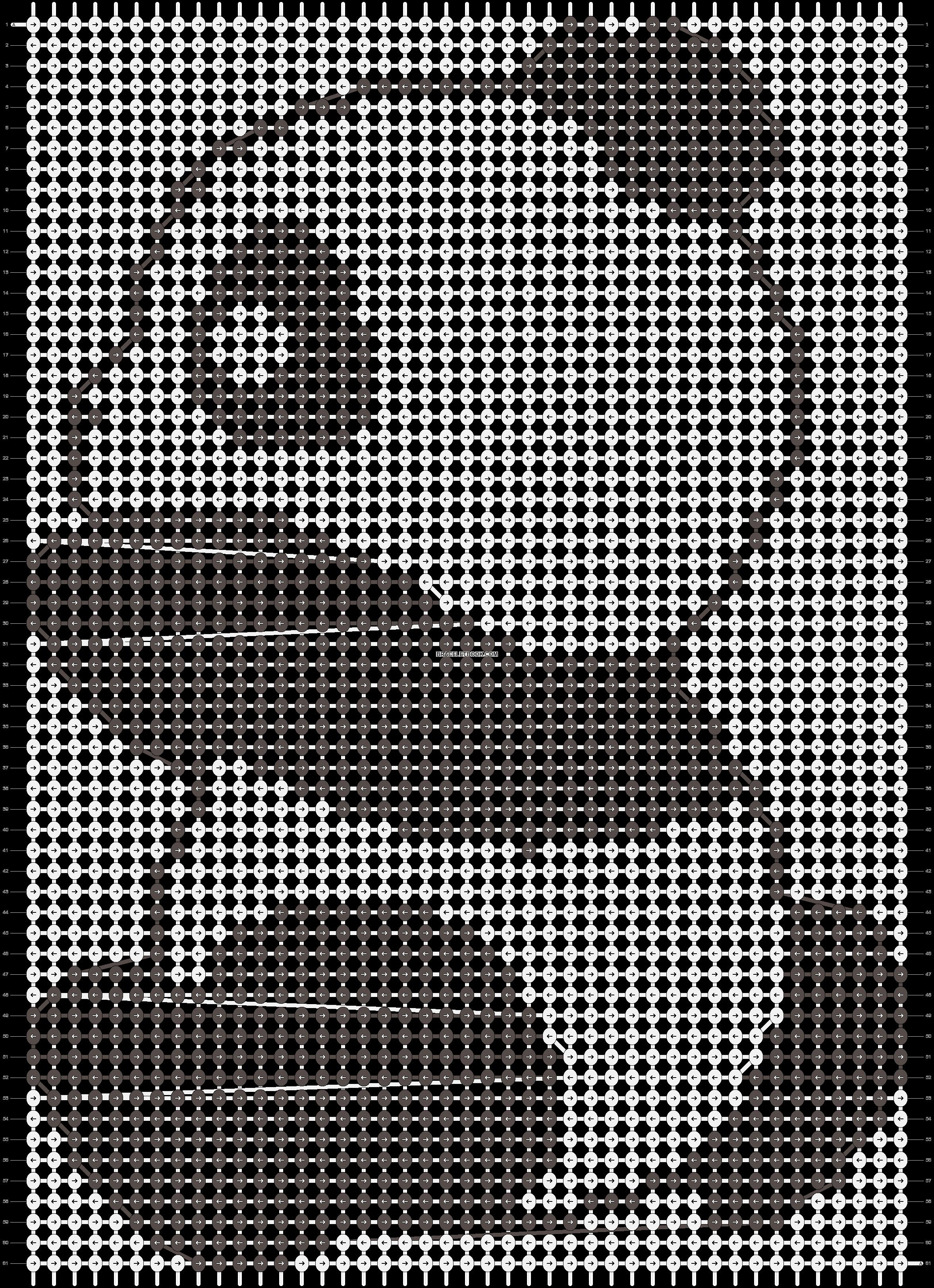 Alpha pattern #4934 pattern
