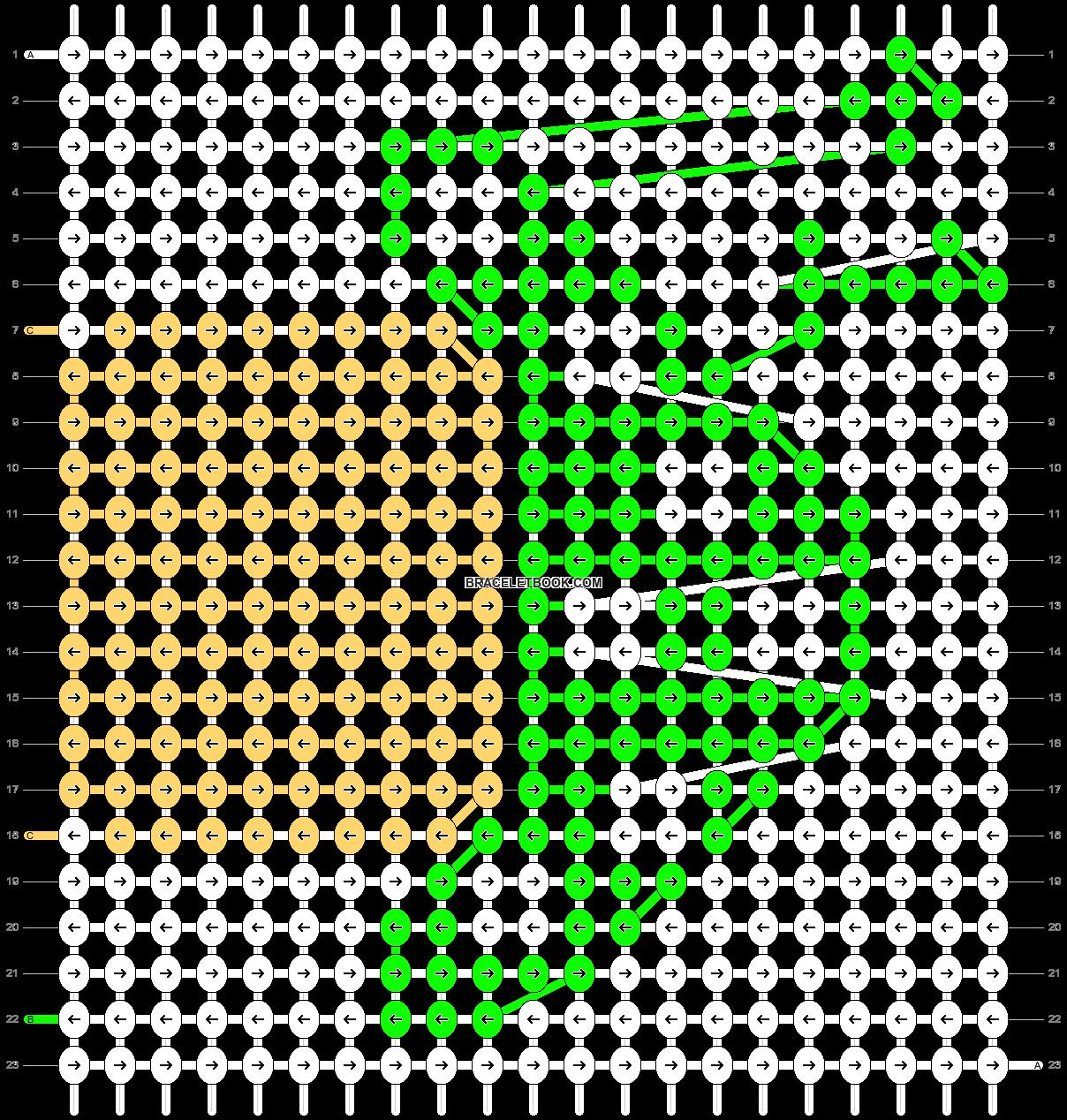 Alpha pattern #4935 pattern