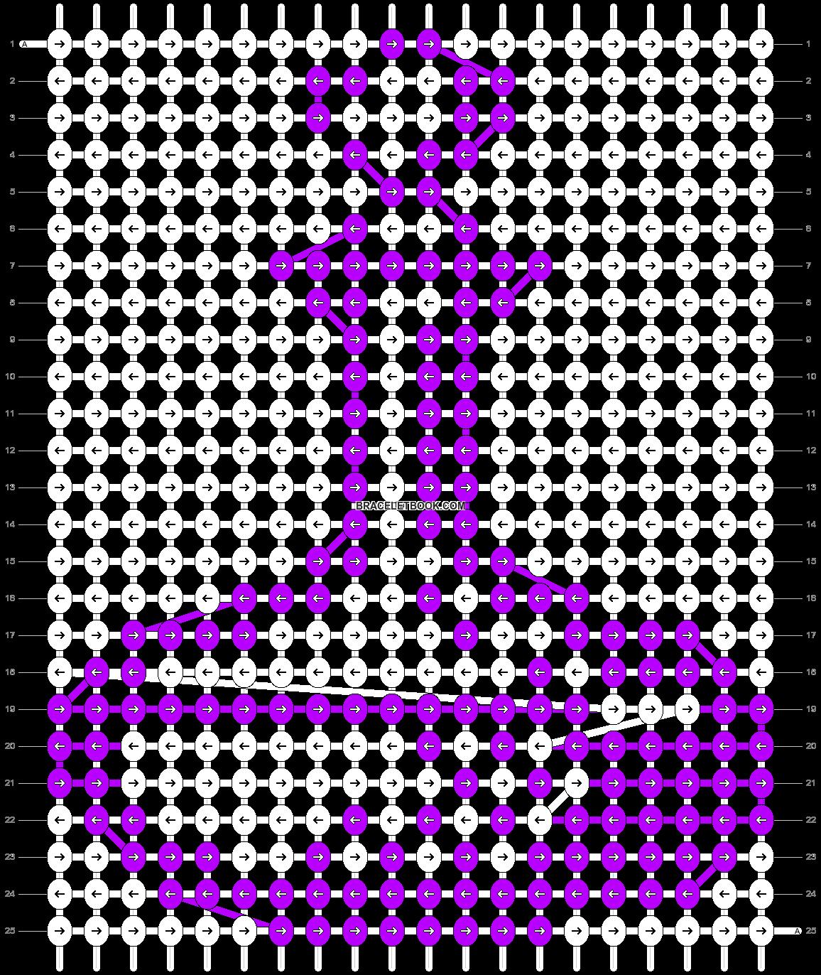 Alpha pattern #4944 pattern