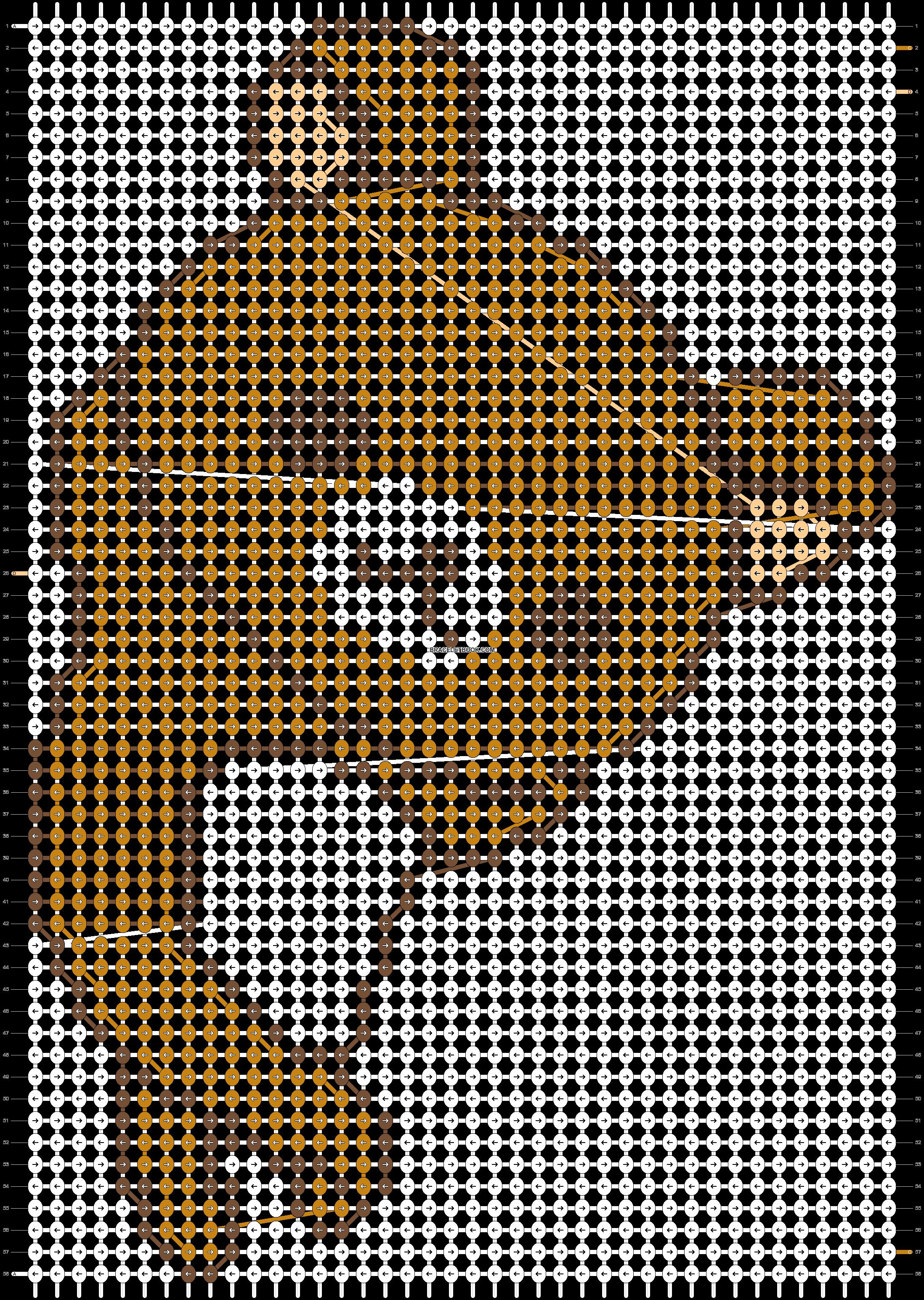 Alpha pattern #4950 pattern