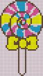 Alpha Friendship Bracelet Pattern #4953