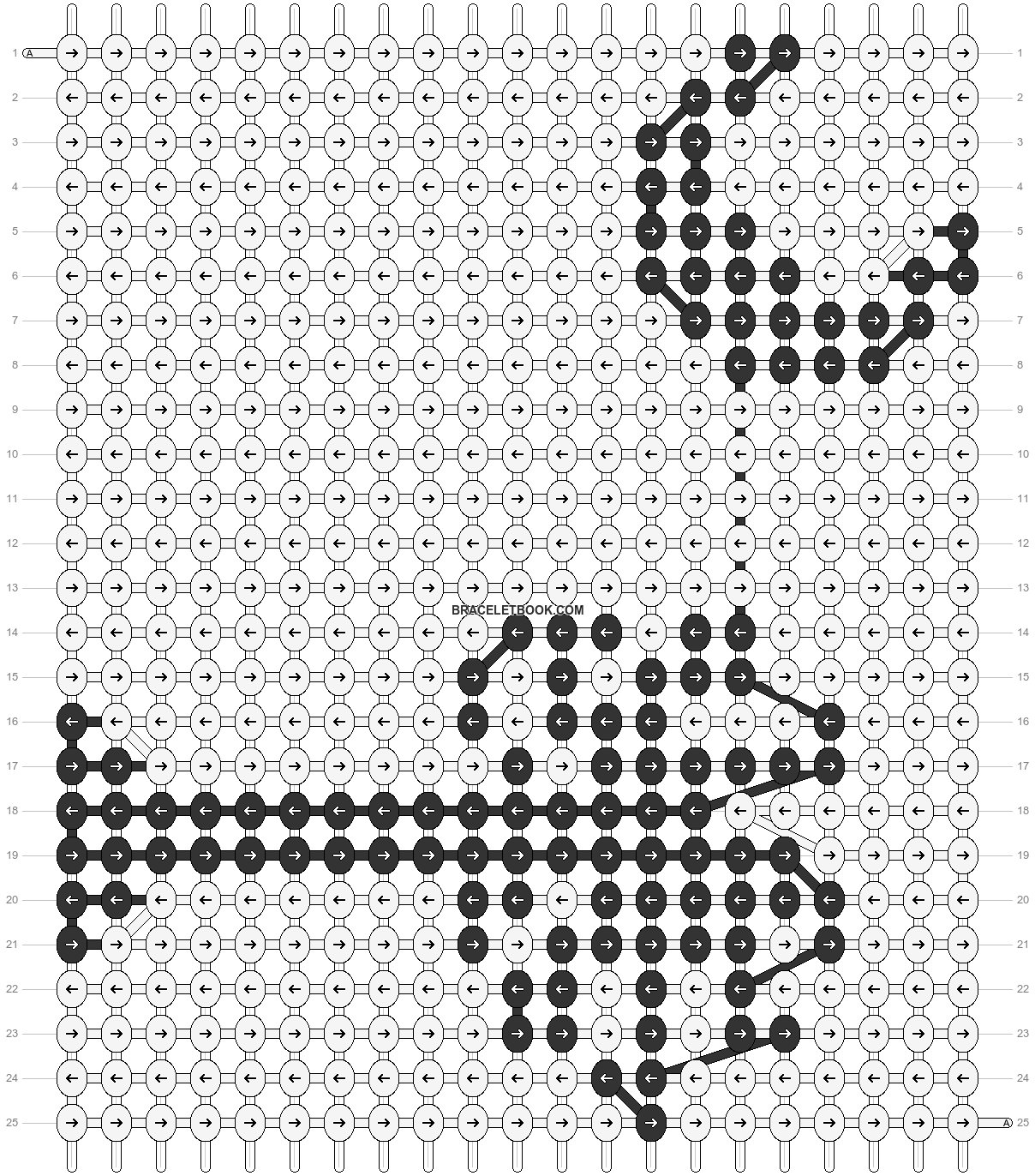 Alpha pattern #4969 pattern