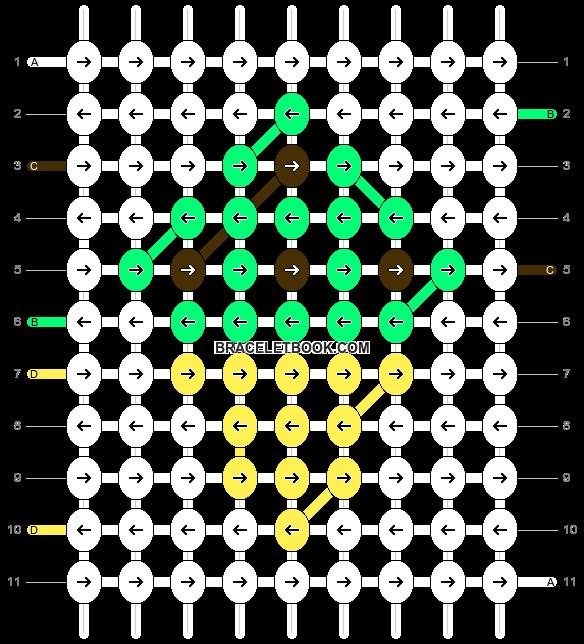Alpha pattern #4976 pattern