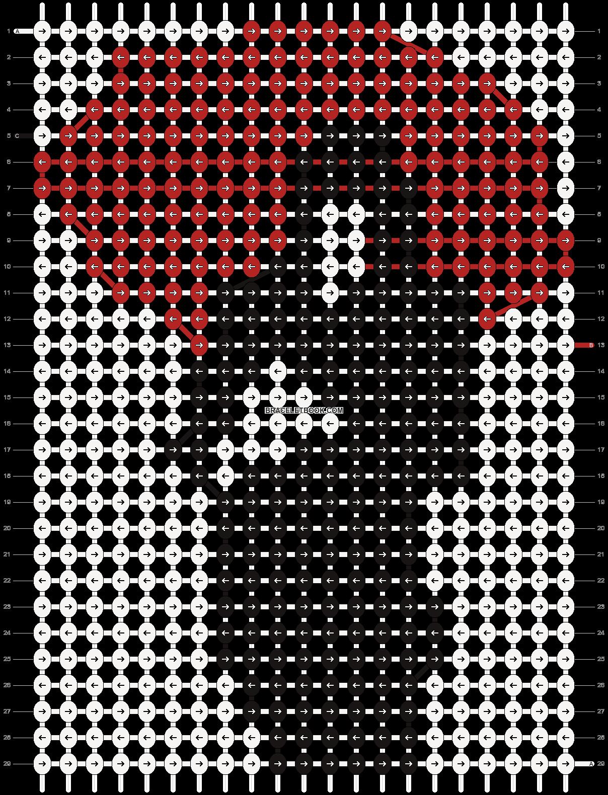 Alpha pattern #4979 pattern