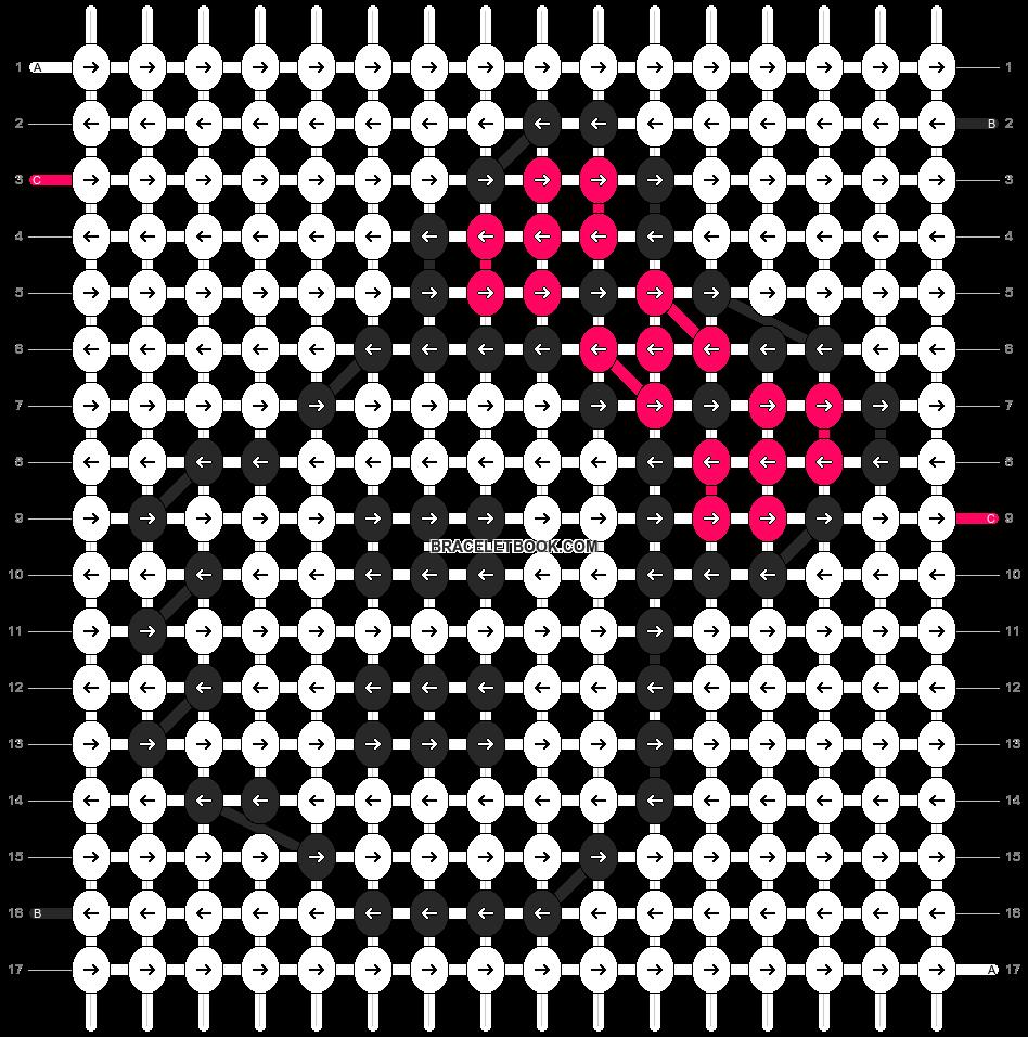 Alpha pattern #4980 pattern
