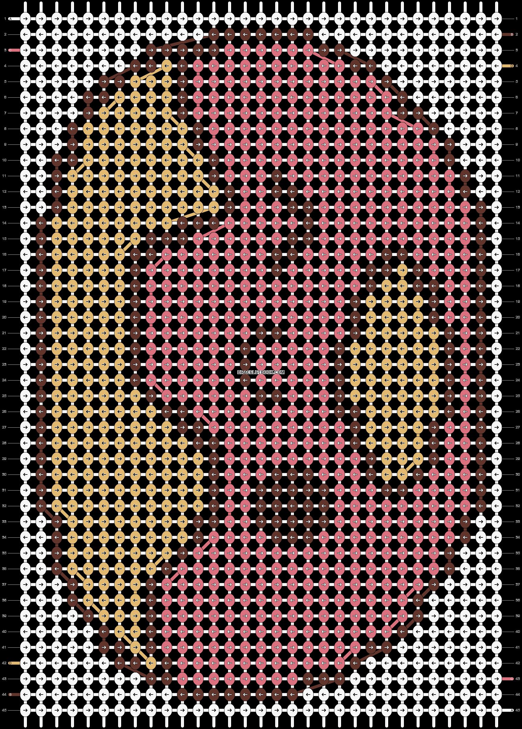 Alpha pattern #4983 pattern