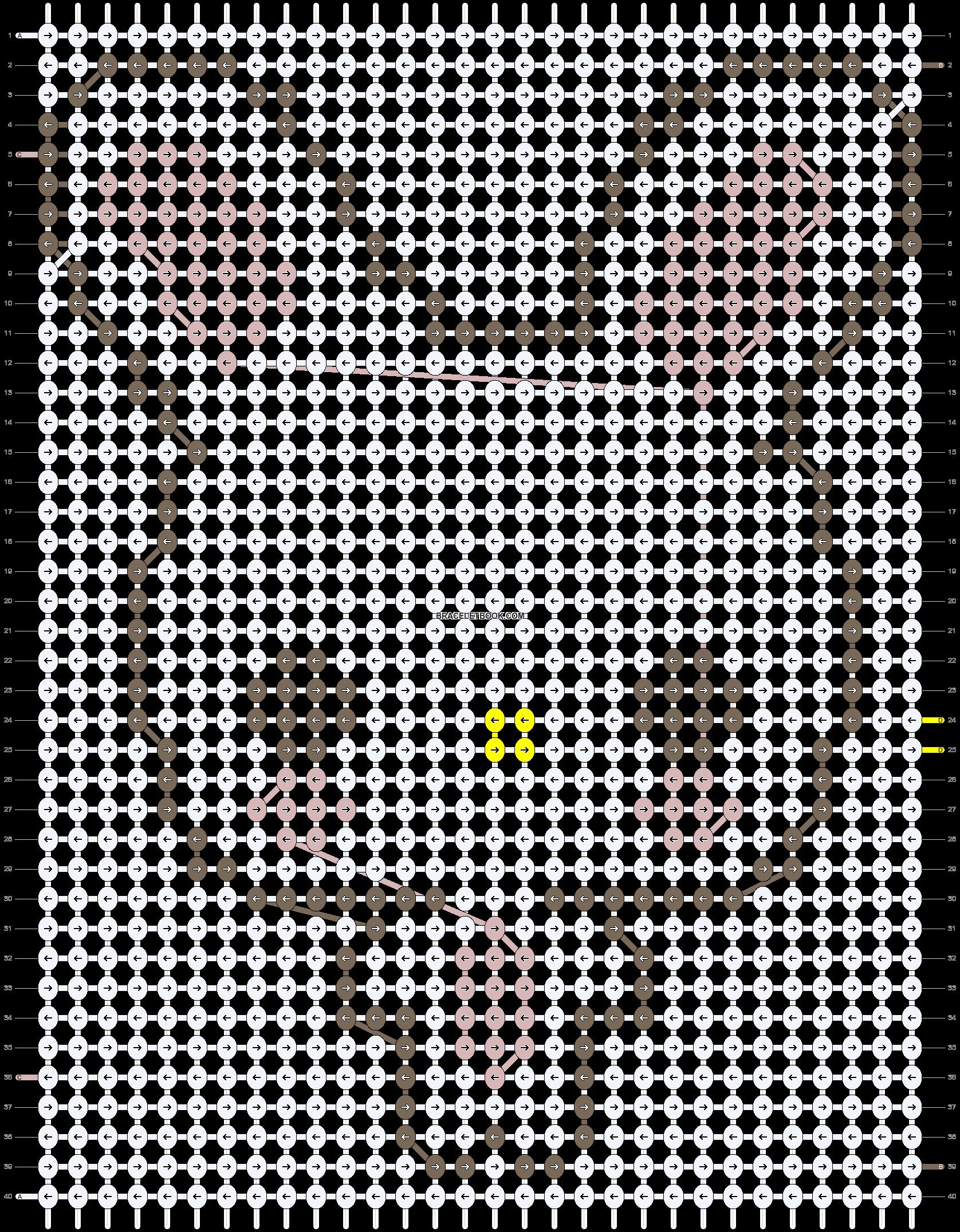 Alpha pattern #4987 pattern