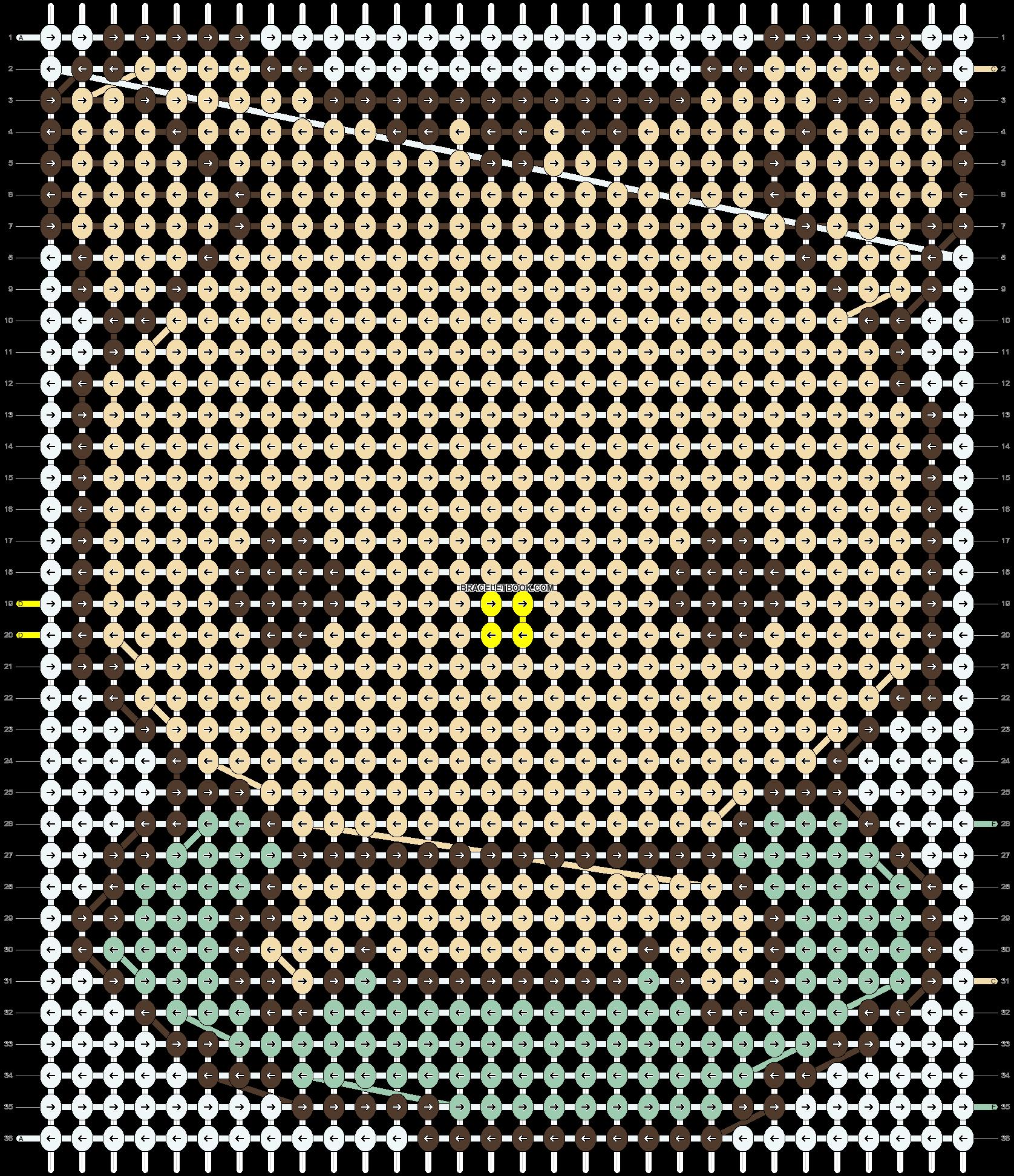 Alpha pattern #4989 pattern